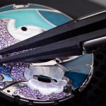 Watch how this Van Cleef & Arpels Lady Arpels Papillon Automate Flutters its Wings As You Move Your Arm (6)
