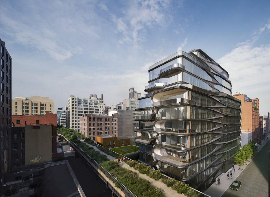 Zaha Hadid's Latest Project is a New York Building With Robot Valets and private IMAX Theater