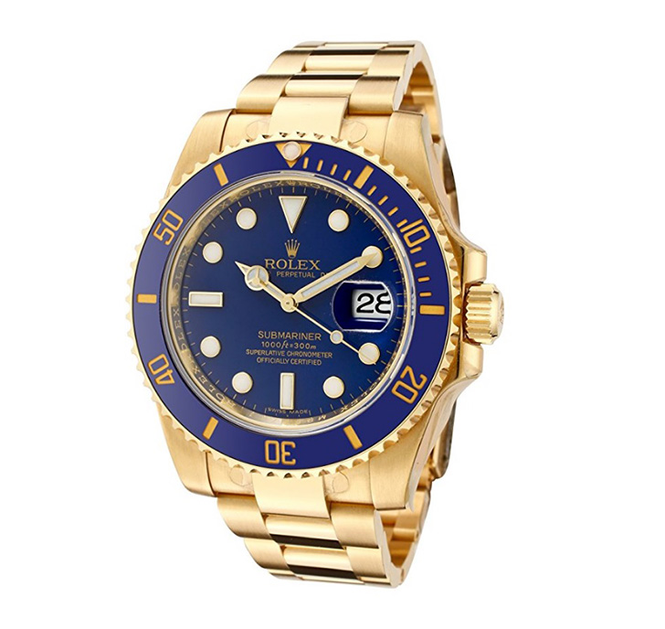 rolex oyster automatic 18k gold