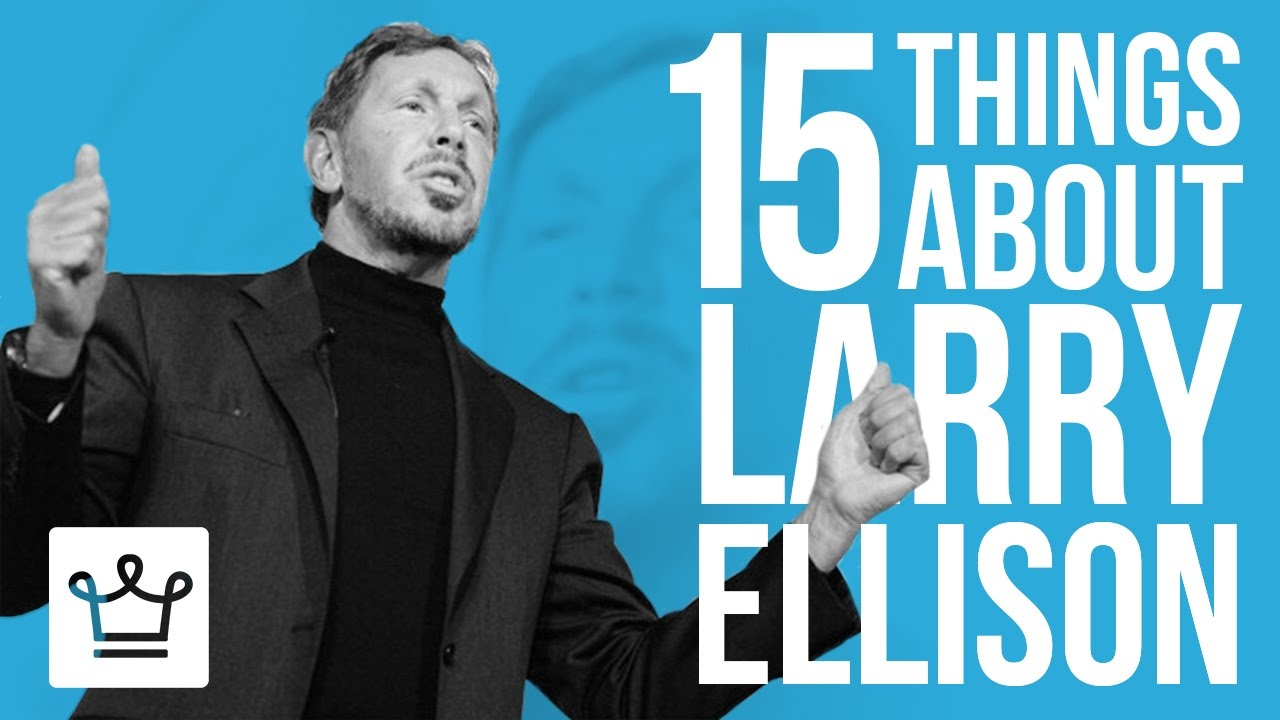 15 Things You Didn't Know About Larry Ellison