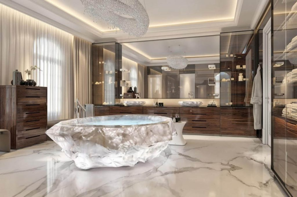 Attention Everybody! Don't Plan Your Next Vacation Until You See the $1 Million Bathtub at XXII Carat Holiday Villa!