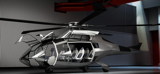 The Lamborghini-Inspired Helicopter is What the Future Aircrafts Could Look Like