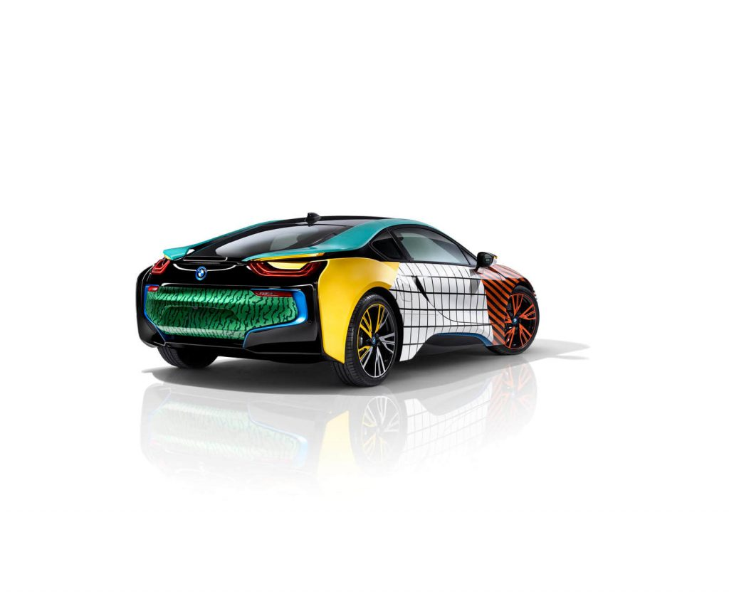 Garage Italia's Colorful BMW Memphis Style Cars will Make You Way Happier than it should!