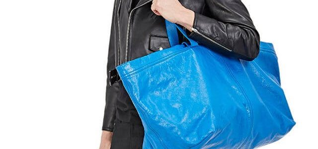 Here is Everything You Need to Know About the $2,000 Balenciaga Ikea Bag knockoff!