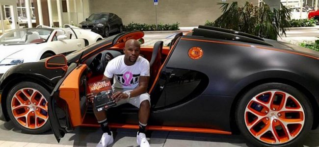 You Can Drive Like Floyd Mayweather in his Bugatti Veyron which He Is Selling on eBay for $4 Million!