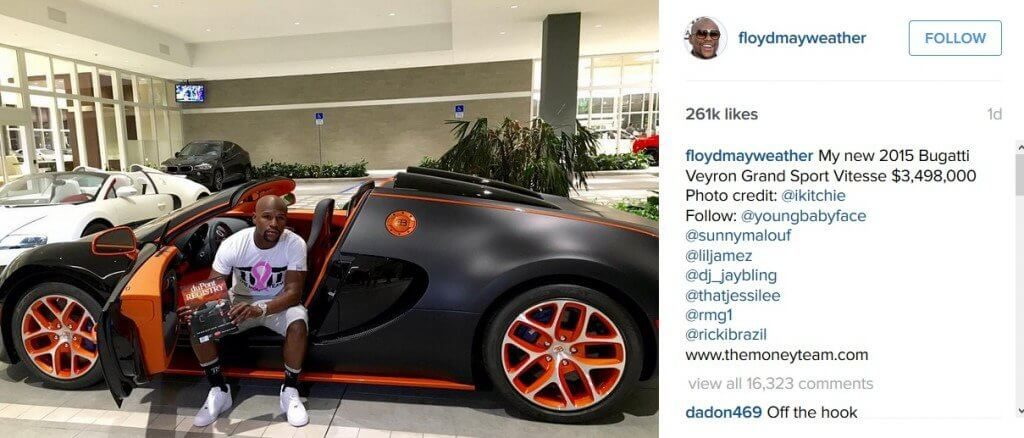 Nobody Wants to Buy Floyd Mayweather's Bugatti Veyron from eBay!!