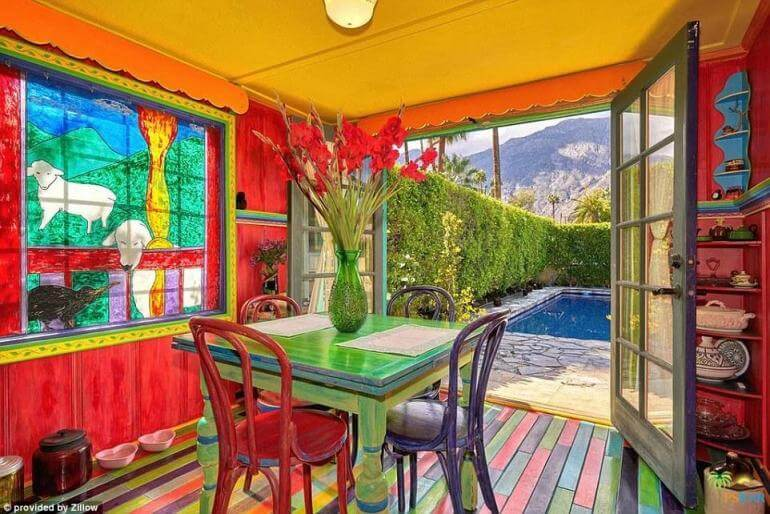Seeing inside California's Most Colorful Home Will Have You Gasping For Air!