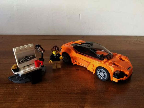 This LEGO 720s McLaren Speed Champion Set is the Only McLaren We Can All Afford