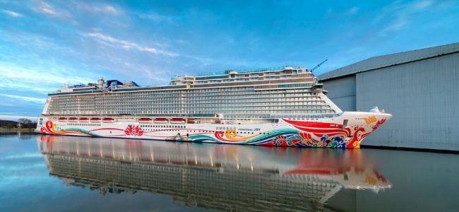 Norwegian Cruise Line in Partnership with Ferrari Creates the World's First Racetrack at Sea!