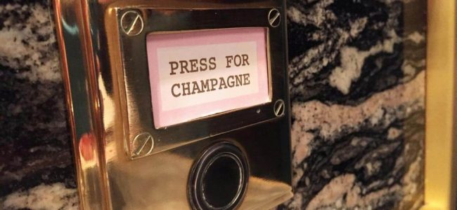 This Office Space in London is Brining in a Press for Champagne Button!