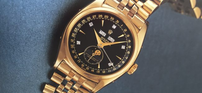Take a Look at What Might Become the Most Expensive Rolex Ever: The Legendary 'Bao Dai' Rolex!