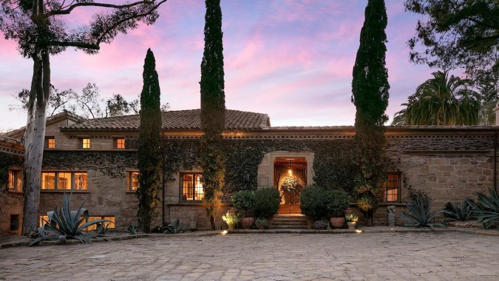 This is What Ellen DeGeneres' Santa Barbara Estate Looks Like and It Can Be Yours for $45 Million!