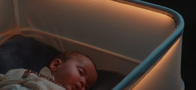 This Brilliant Crib by Ford Simulates Riding in Car so That Your Baby Will Fall Asleep in no Time