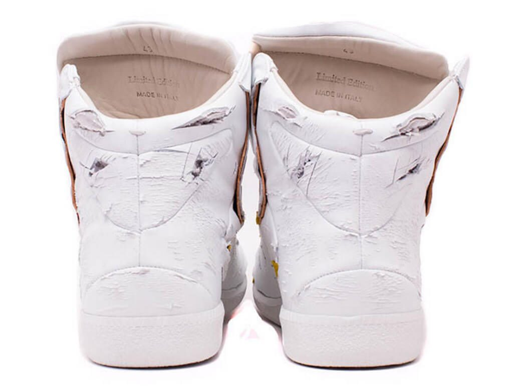 $1,400 Maison Margiela Future Destroyed Sneakers