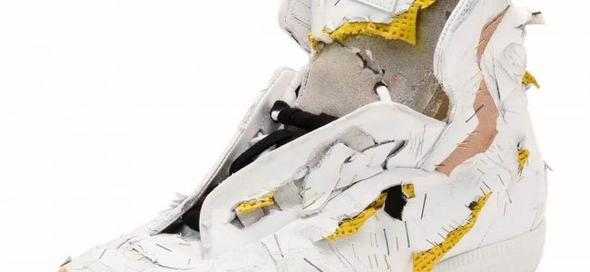 The $1,400 Maison Margiela Future Destroyed Sneakers are here to make a Bold Statement!