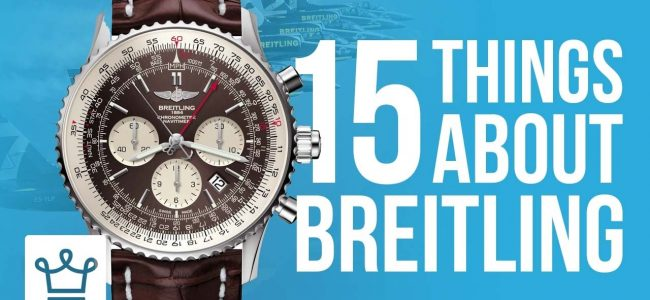 15 Things You Didn't Know About BREITLING
