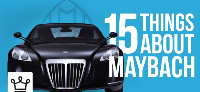 15 Things You Didn't Know About Maybach