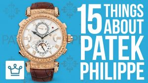 15 Things You Didn't Know About Patek Philippe