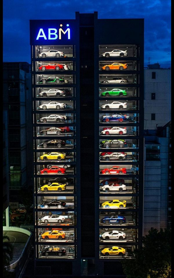 Can You Believe that this 15-Storey Building is the World's Largest Supercar Vending Machine?