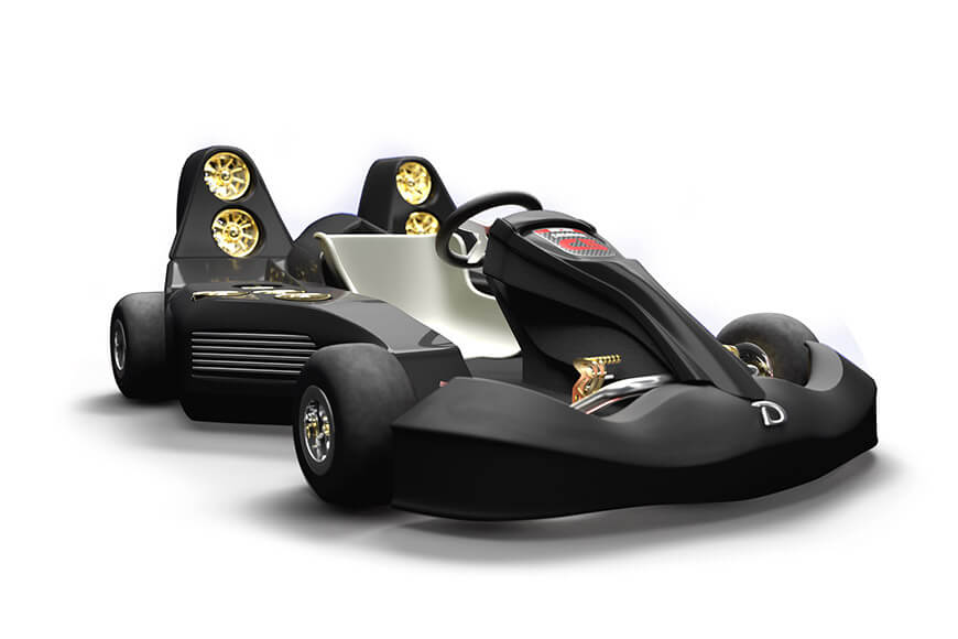 Daymak's C5 Blast Ultimate Go-Kart Is the World's fastest & Most Expensive Go-Kart