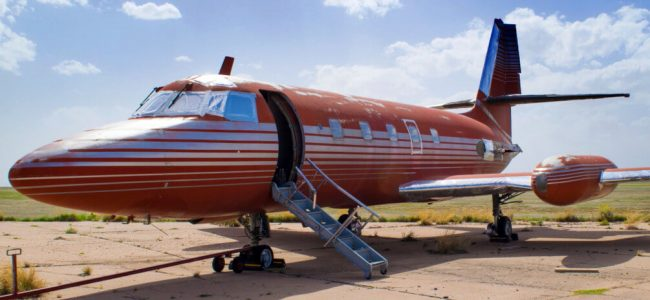 Elvis Presley's 1962 Private Jet Sold at Auction after Sitting for 30 Years on a Runway