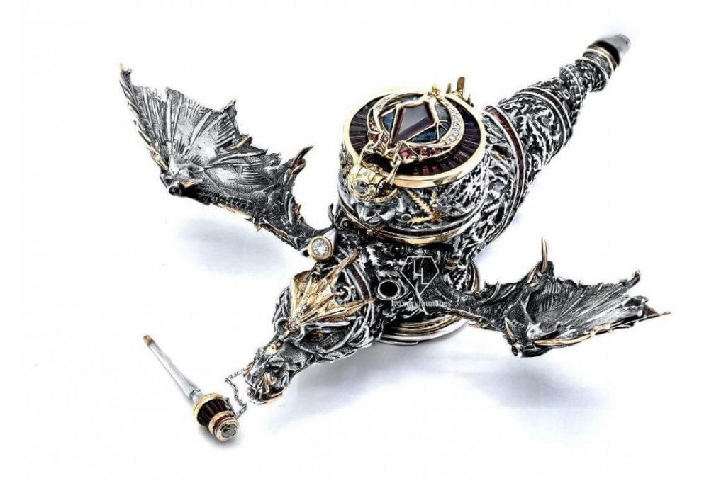 For $85,000 You Can Have Your Own Diamond-Studded Dragon-Shaped Pipe