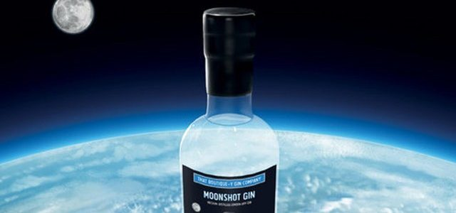 This Moonshot Gin is Made Using Ingredients That Sent into Space