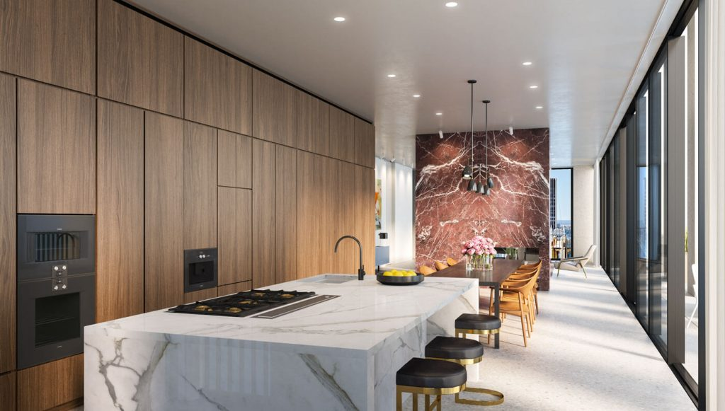 This NYC Penthouse Overlooking Empire State Building is What Elegance on High Skies Looks Like!