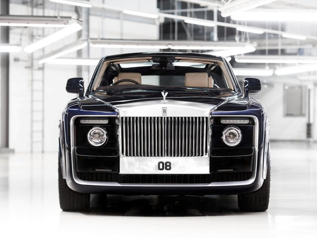 This Rolls-Royce Sweptail Pays Homage to the World of Racing Yachts