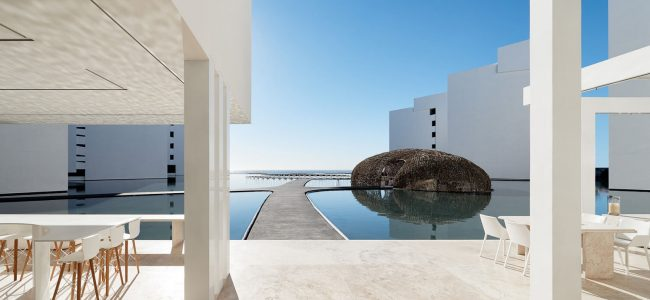 We are In Love With the All-White Design of the Incredible-Looking Mar Adentro Hotel in Mexico