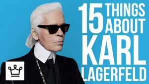 15 Things You Didn't Know About Karl Lagerfeld