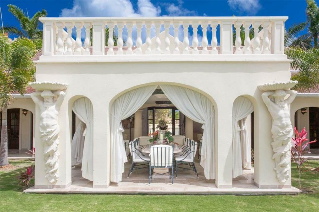 Donald Trump's St. Martin Mansion with Marble, Chandeliers and Golden Curtains is On Sale