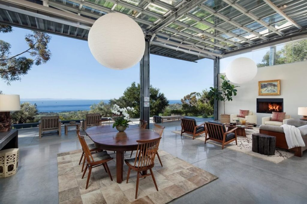 Look around inside Natalie Portman's New Home in Santa Barbara