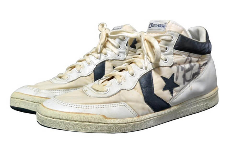 Michael Jordan's Converse Shoes He Wore at the '84 Olympics Sell for Record of $190k