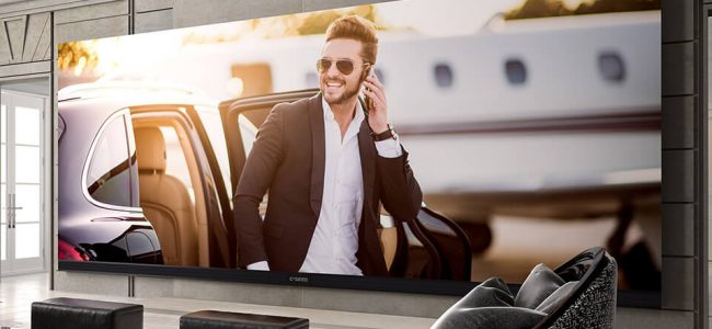 The World's Largest 4K Widescreen TV Is Exactly What You Needed!