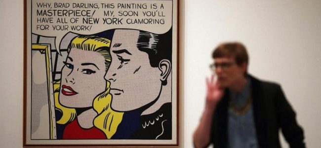 This Hedge Fund Billionaire Bought Lichtenstein's 'Masterpiece' for $165 million