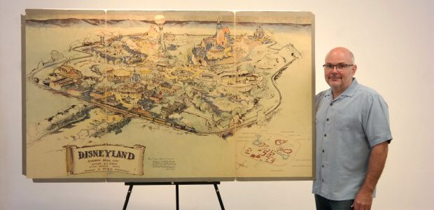 First Ever Disneyland Map Just Sold at Auction for $708K