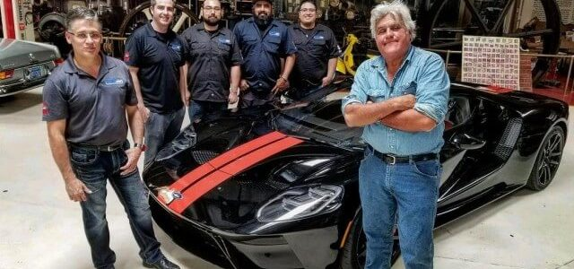 We are So Jealous of Jay Leno's Newest Addition to his Garage, the 2017 Ford GT!