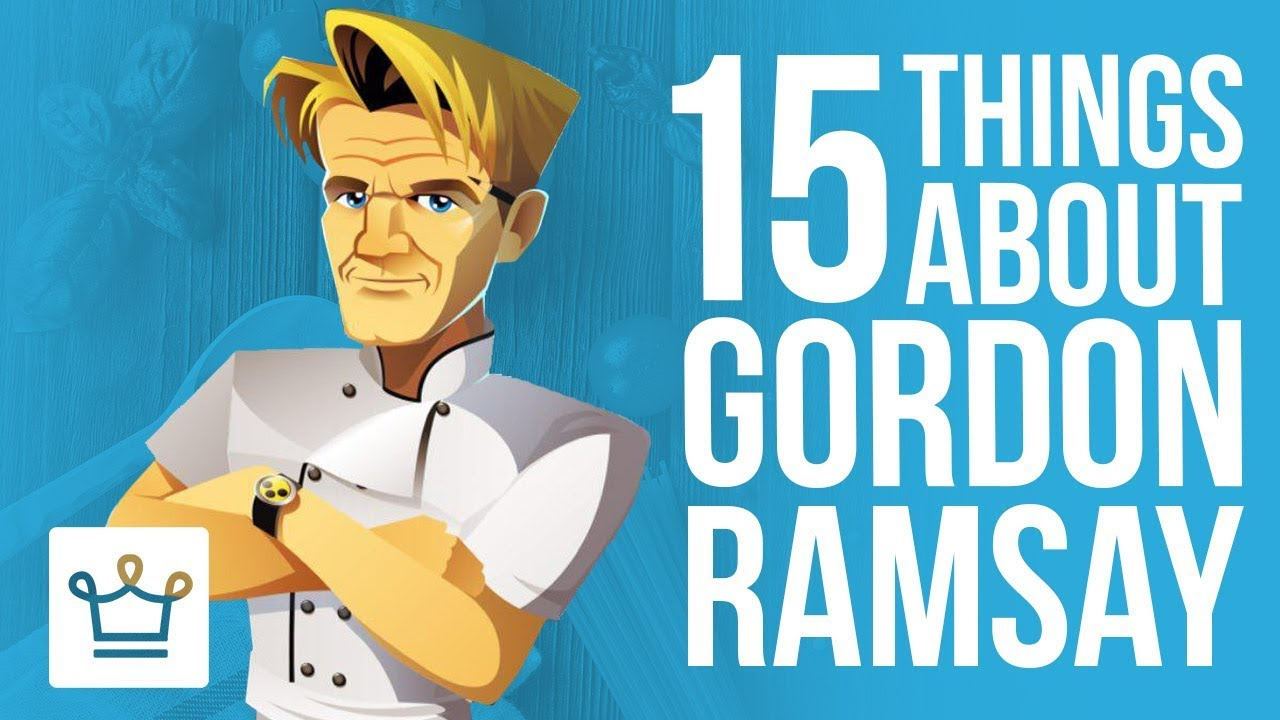 15 Things You Didn't Know About Gordon Ramsey