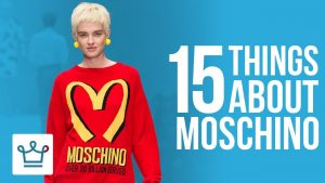 15 Things You Didn't Know About Moschino