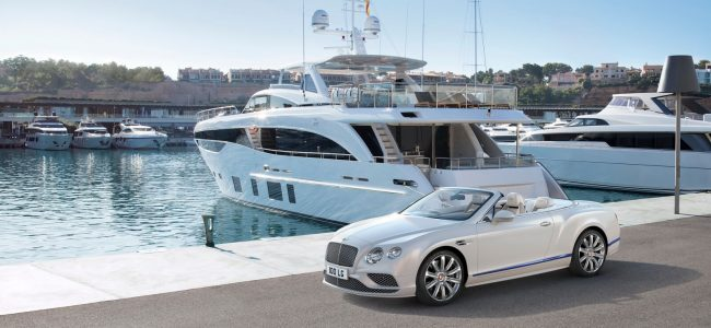 This Continental GT Convertible Galene Edition from Bentley is Inspired from the High Seas