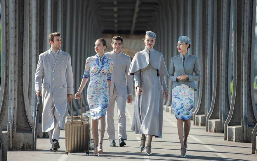 Check out Chinese Airline's New Haute Couture Uniforms!
