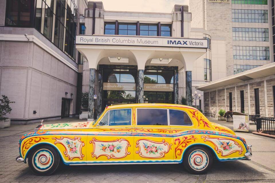 Check out John Lennon's Psychedelic Rolls Royce on Display in London!