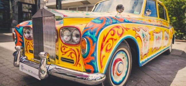 Rolls-Royce Brought John Lennon's Psychedelic Car to the Public as Part of Great Eight Phantoms Exhibit