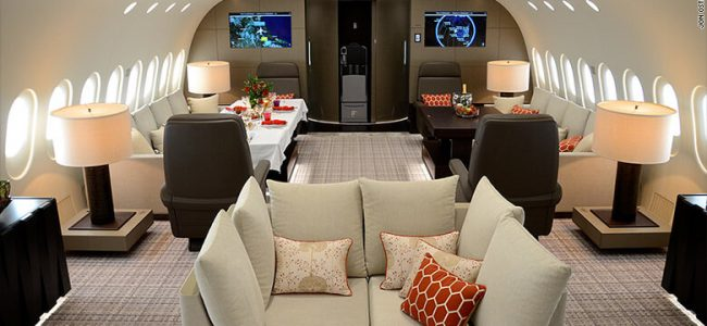 This Private Boeing 787 Dreamliner Costs $74,000 an Hour to Enjoy the Views