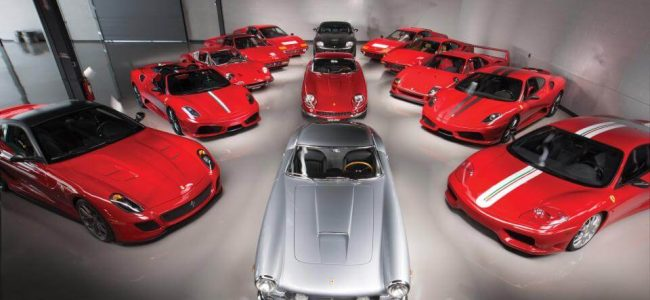 An Entire Collection of Ferrari Cars Worth $18 Million Could Be Yours Next Month!