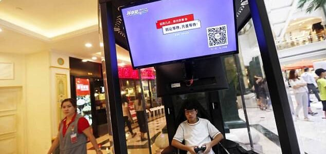 This Mall in China Introduces Husband Pods for Wives to Leave Their Spouses While they Shop