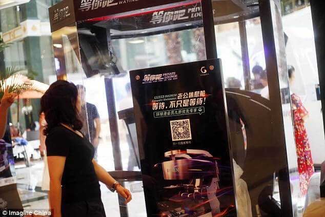 Husband Pods Is Where You Leave Your Husband While You Shop at This Chinese Mall