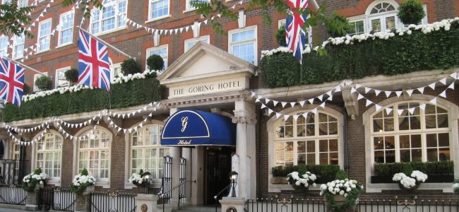 Kate Middleton & the Rest of the Royal Family Love The Goring Hotel in London