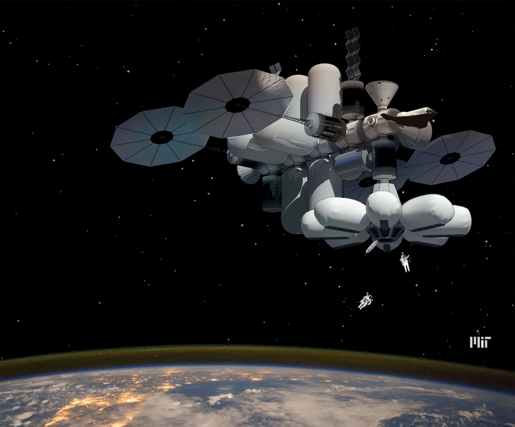 MIT Students Win NASA Graduate Design Competition with Luxury Space Hotel